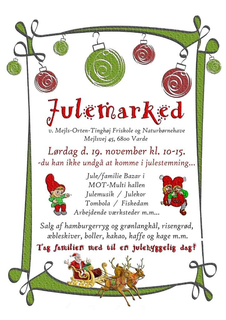 Julemarked flyers 1
